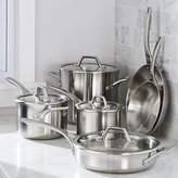 Crate & Barrel Calphalon ® Signature Stainless Steel 10-Piece Cookware Set with Double Bonus