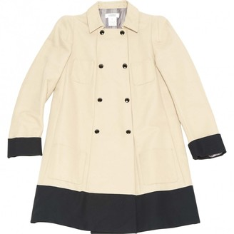 Sonia Rykiel Sonia By Beige Cotton Coat for Women
