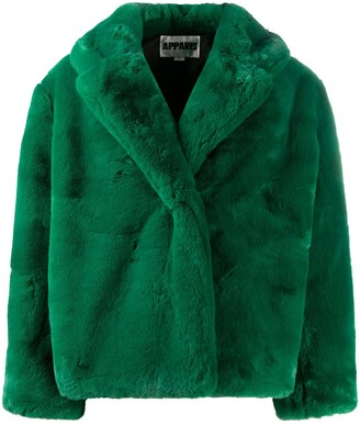 Apparis Oversized Faux-Fur Jacket