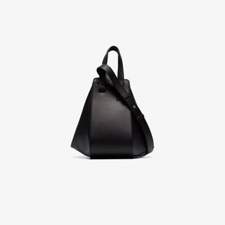 Loewe black Hammock small leather shoulder bag