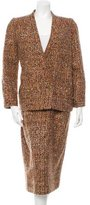 Chanel Tweed Wool Skirt Suit