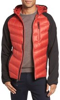 Michael Kors Men's Hooded Water Resistant Down Jacket