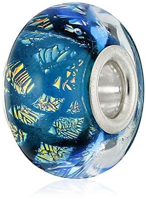 Murano Chamilia Sterling Silver and Glass Opulence Blue Bead Charm
