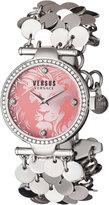 Versus By Versace 34mm Paris Lights Swarovski® Bezel Bracelet Watch, Pink