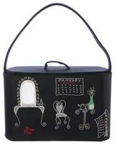 Lulu Guinness Embroidered Handle Bag