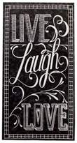 Bed Bath & Beyond Live Laugh Love Chalkboard 16-Count Paper Guest Towels