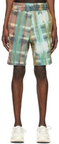 Wooyoungmi Mutlicolor Tie-Dye Shorts