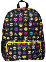 Fashion Angels Black Emoji Backpack