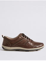 M&s Collection Leather Lace-up Shoes with AirflexTM