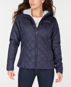 Columbia Women's Copper Crest Hooded Fleece-Lined Jacket