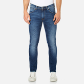 Edwin Men's Ed85 Slim Tapered Drop Crotch Jeans - Mid Trip Used