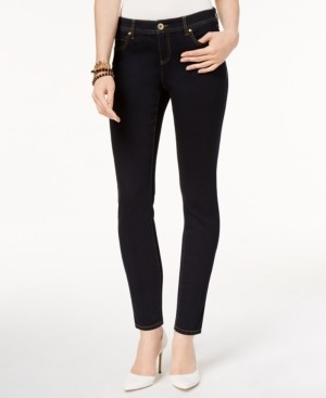 INC International Concepts Inc Petite Curvy Skinny Tummy Control Jeans, Created for Macy's