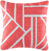 Kas Splice Coral Square Cushion Cover
