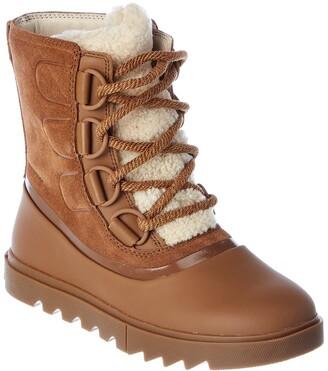 Sorel Joan Of Arctic Next Lite Waterproof Suede & Leather Boot