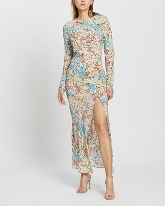 Bec & Bridge Wisteria LS Midi Dress