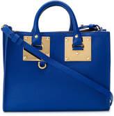 Sophie Hulme zipped tote bag