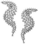 Adriana Orsini Leia Wave Drop Swarovski Crystal Earrings