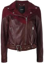 Diesel biker leather jacket