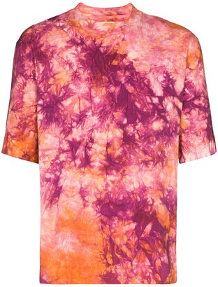 Nicholas Daley tie-dye pattern T-shirt