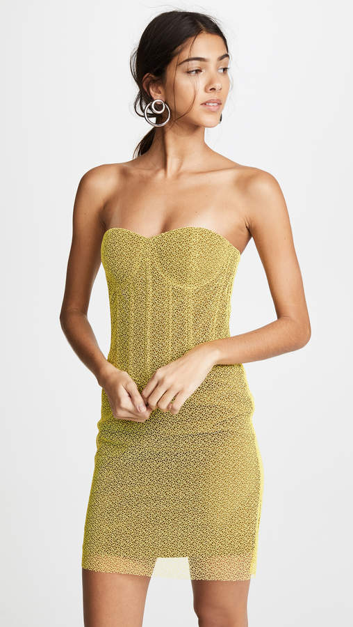 Diane von Furstenberg Corset Dress