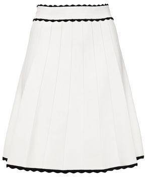 Sandro Janelle Ribbed Stretch-knit Mini Skirt