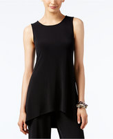 Alfani Petite High-Low Sleeveless Tunic Top, Only at Macy's