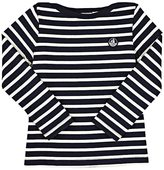 Petit Bateau LOGO STRIPED KNIT COTTON T-SHIRT