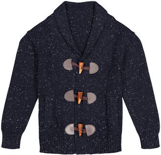 Andy & Evan Boy's Shawl Toggle Cardigan, Size 3-24 Months