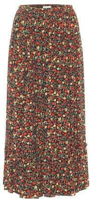 Gucci x Liberty floral crepe midi skirt