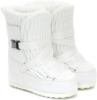 Bogner Tignes quilted snow boots