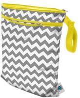Bed Bath & Beyond Planet Wise Wet/Dry Bag in Grey Chevron
