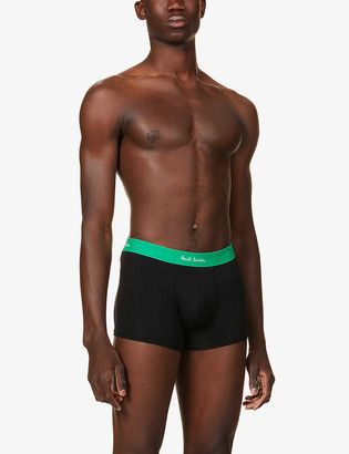 Paul Smith Pack of five stretch-cotton trunks