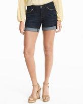 White House Black Market 5-inch Cuffed Denim Shorts