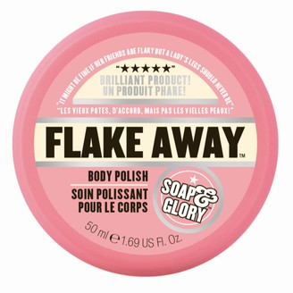 Soap & Glory Original Pink Travel Size Flake Away Body Exfoliator