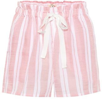 Lemlem Doro cotton-blend shorts