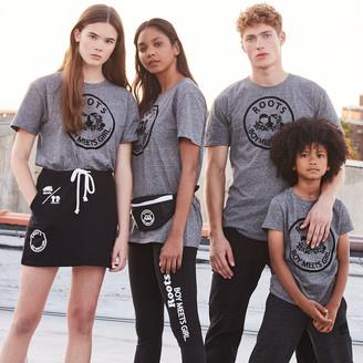 Roots x Boy Meets Girl - Unisex United Flocked T-shirt
