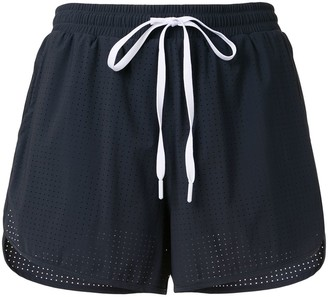The Upside Track loose fit shorts