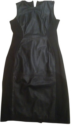French Connection Black Leather Dress for Women