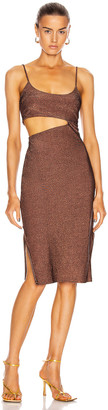 Flagpole Bondi Dress in Bronze | FWRD