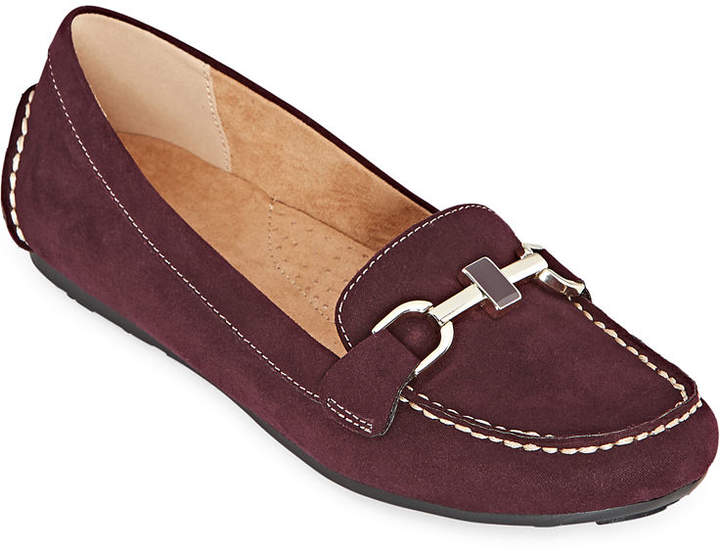 196fbaecad1c4 Womens Ashton Slip-on Round Toe Loafers