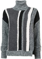 Yigal Azrouel striped turtleneck sweater
