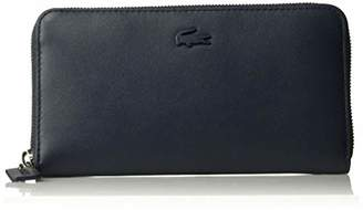 Lacoste Women L.12.12 Leather Large Zip Wallet