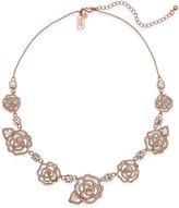Kate Spade Rose Gold-Tone Pavé Rose Link Bracelet