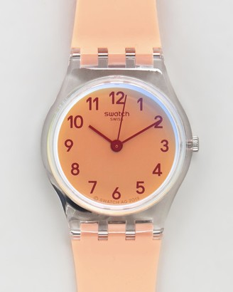 Swatch Women's Analogue - CASUAL PINK - Size One Size at The Iconic