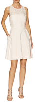 Karen Millen Modern Lace Tailored Flared Dress