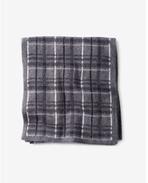 Express plaid cotton scarf