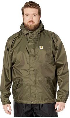 Carhartt Big Tall Dry Harbor Jacket (Black) Men's Coat