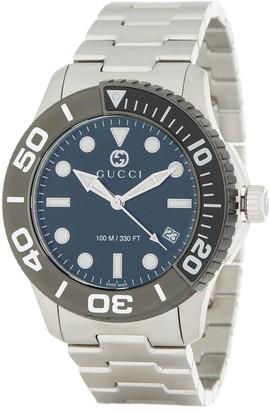 Gucci Men's G-Timeless Bracelet Watch, 44mm