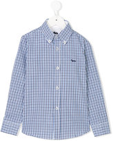 Harmont & Blaine Junior fitted check shirt