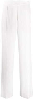 Brunello Cucinelli Wide-Leg Pleated Trousers